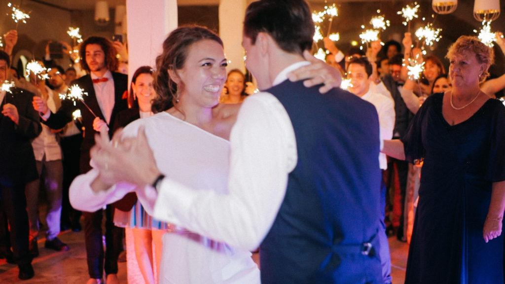 Camille & Gaël, l'ouverture de bal
