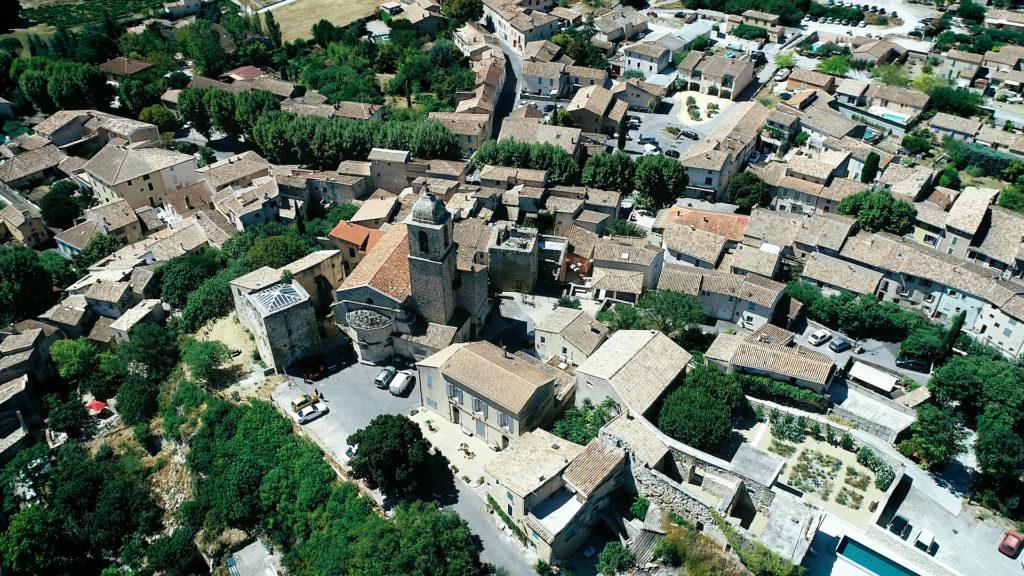 Mormoiron drone Provence Mont Ventoux Film de mariage