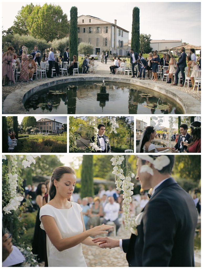 Mariage à la Bastide Saint-Julien, capture d'écran du film de mariage